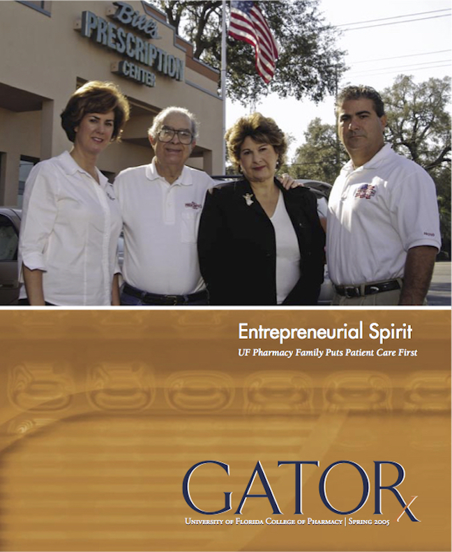Cover for GATORx 2005 Issue