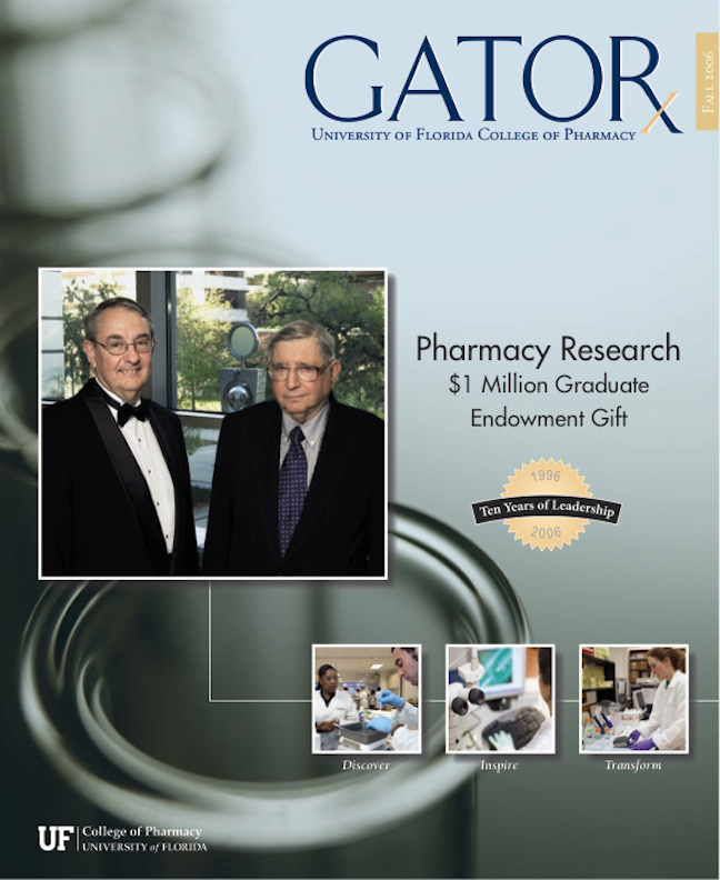 Cover for GATORx 2006 Issue