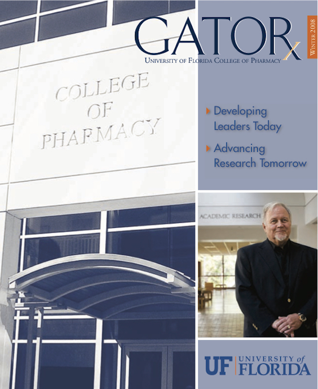 Cover for GATORx 2007–08 Issue