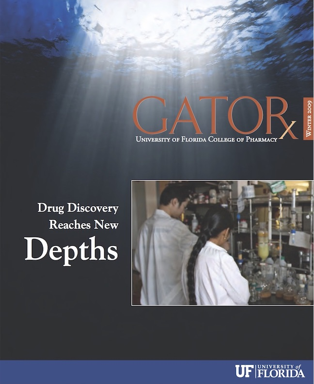 Cover for GATORx 2008–09 Issue