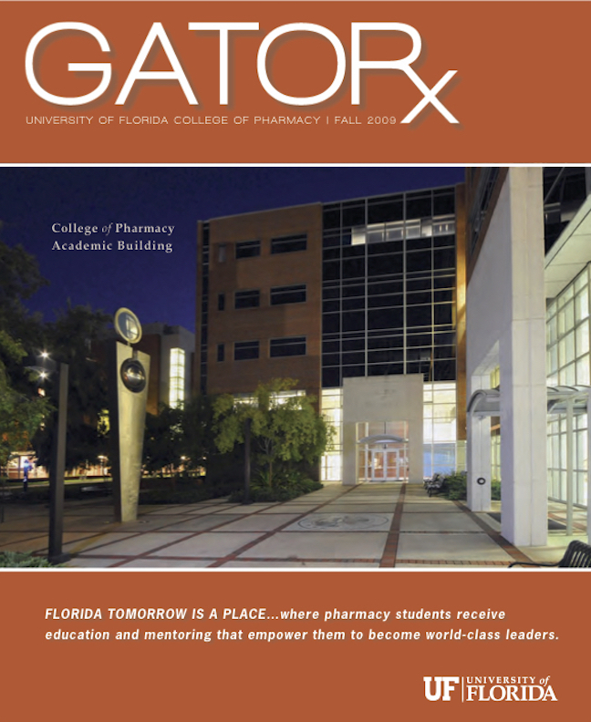 Cover for GATORx 2009–10 Issue