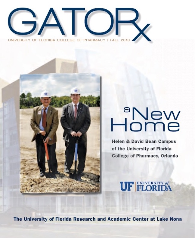 Cover for GATORx 2010–11 Issue