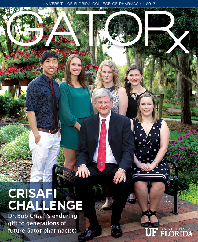 Cover for GATORx 2017–18 Issue