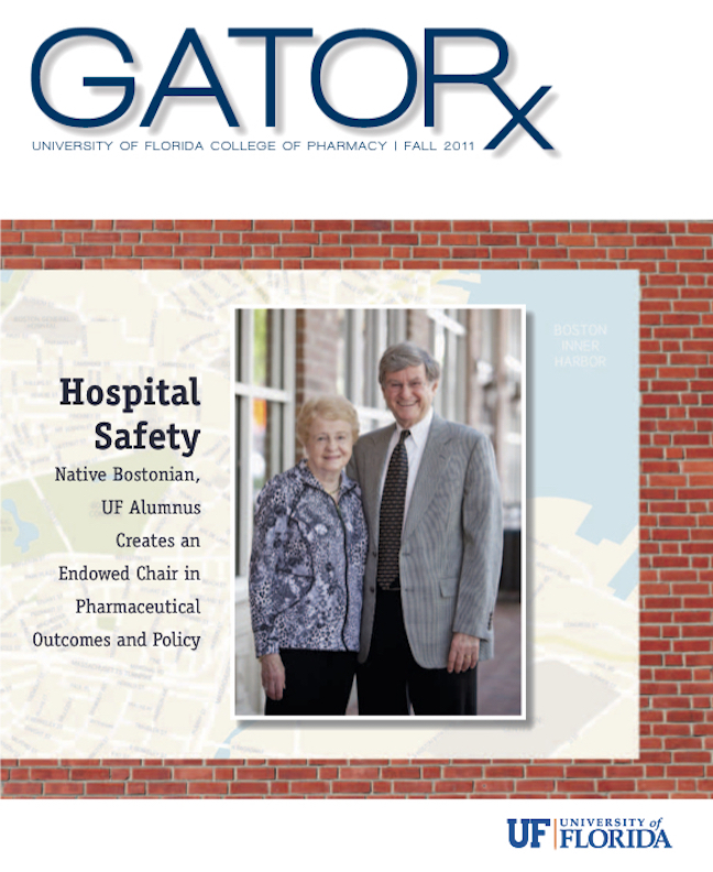 Cover for GATORx 2011–12 Issue