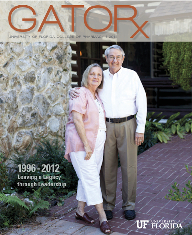 Cover for GATORx 2012 Issue