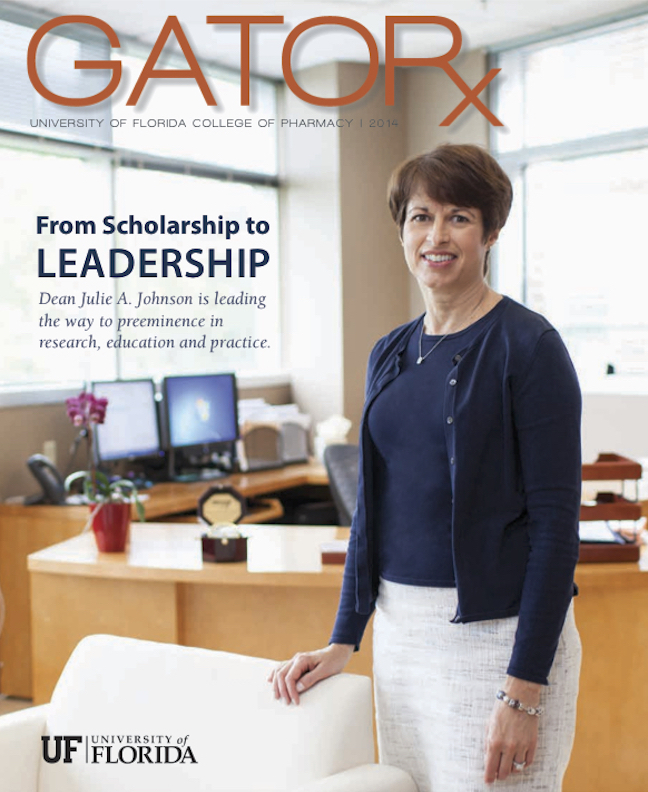 Cover for GATORx 2014 Issue