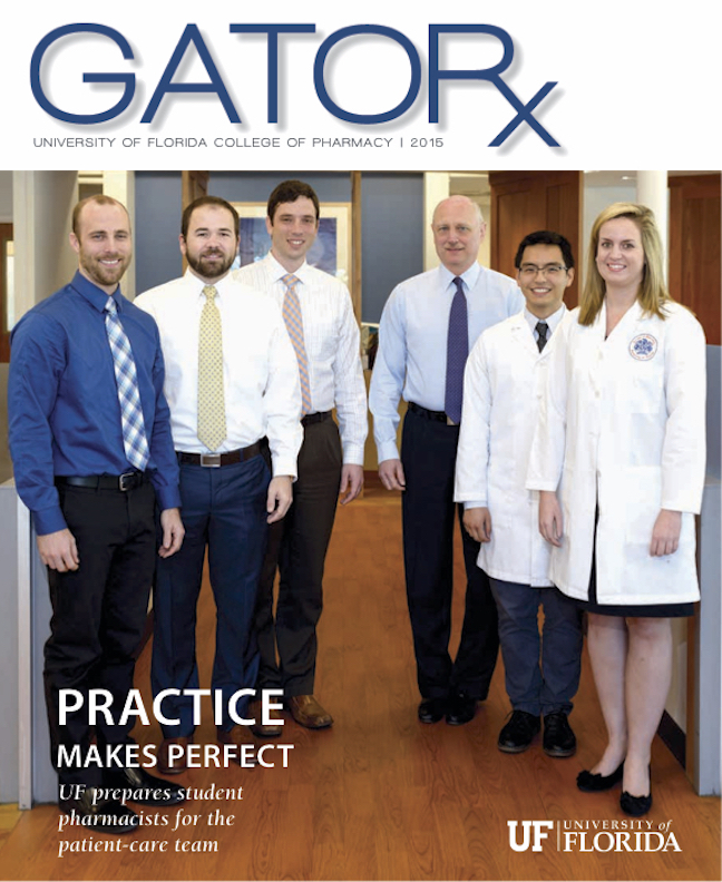 Cover for GATORx 2015 Issue