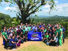 Global Health Outreach students in the Dominican Republic