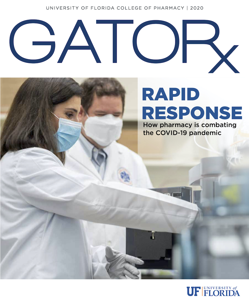 Cover for GATORx 2020-21 Issue