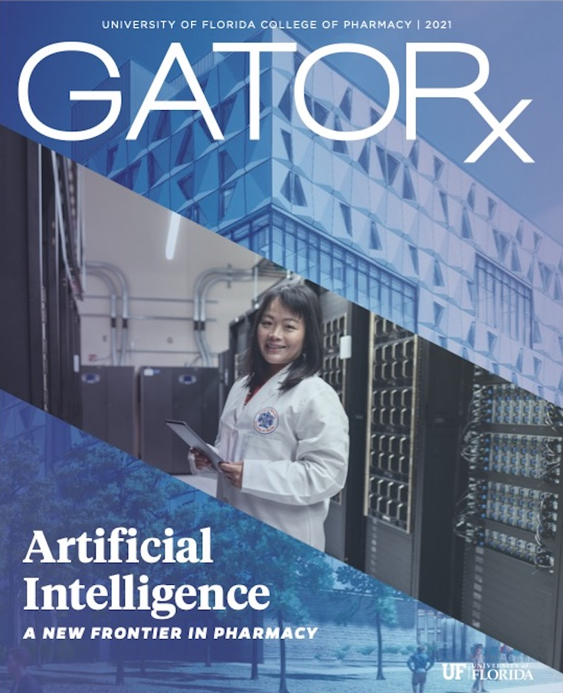 Cover for GATORx 2021-22 Issue